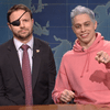 Pete  Davidson and Dan Crenshaw