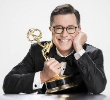 Stephen Colbert hosts the Emmys on CBS