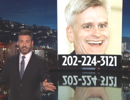 Jimmy Kimmel takes on Bill Cassidy (ABC)