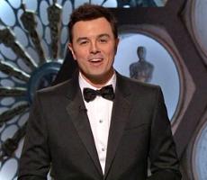 Seth MacFarlane at the 2013 Oscars