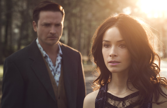 Aden Young and Abigail Spencer in <i>Rectify</i> (Sundance TV)