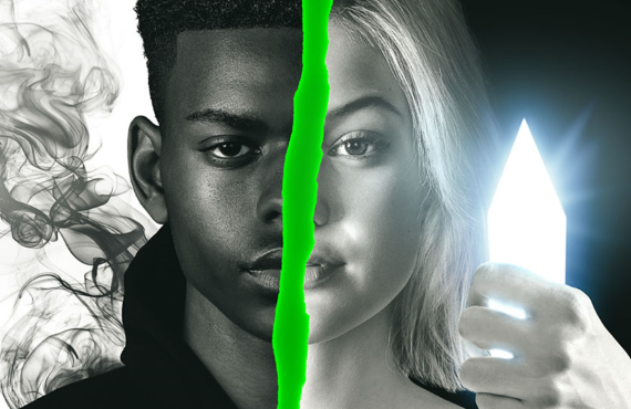 Aubrey Joseph and Olivia Holt as the titular Cloak and Dagger: superheroes falling in love (Freeform)