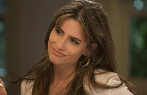 Amanda Peet stole the show on HBO's Togetherness.