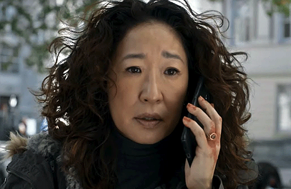 Sandra Oh in season 2 of Killing Eve