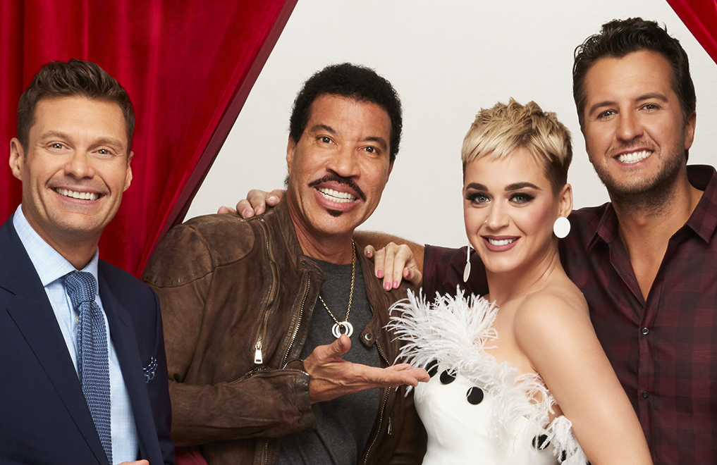 Ryan Seacrest, Lionel Richie, Katy Perry, Luke Bryan on American Idol (ABC)