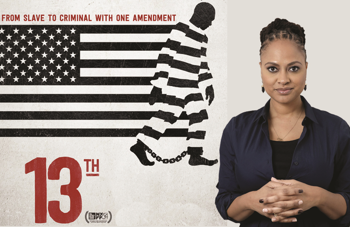 Ava DuVernay in a promotional photo for <i>13TH</i> (Netflix)