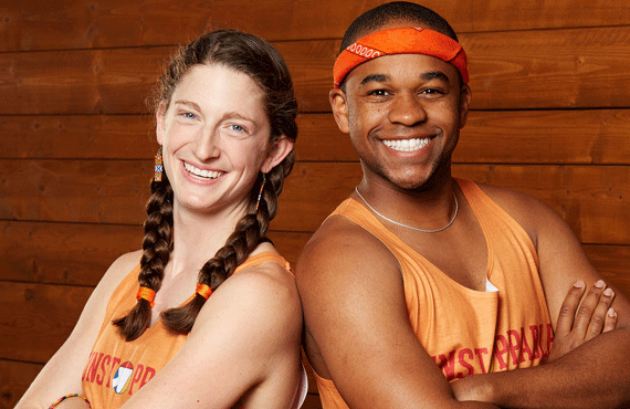 "The Amazing Race's ""Team Fun"" Becca and Floyd"