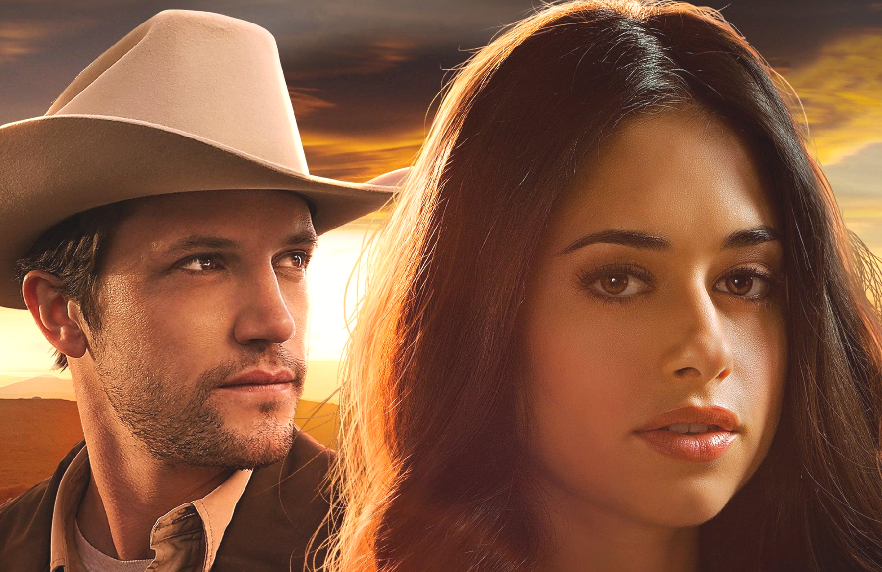 Nathan Parsons and Jeanine Mason star in Roswell, NM (The CW)