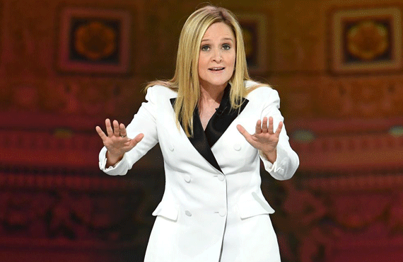 Samantha Bee at the Full Frontal White House Correspondents Dinner special
