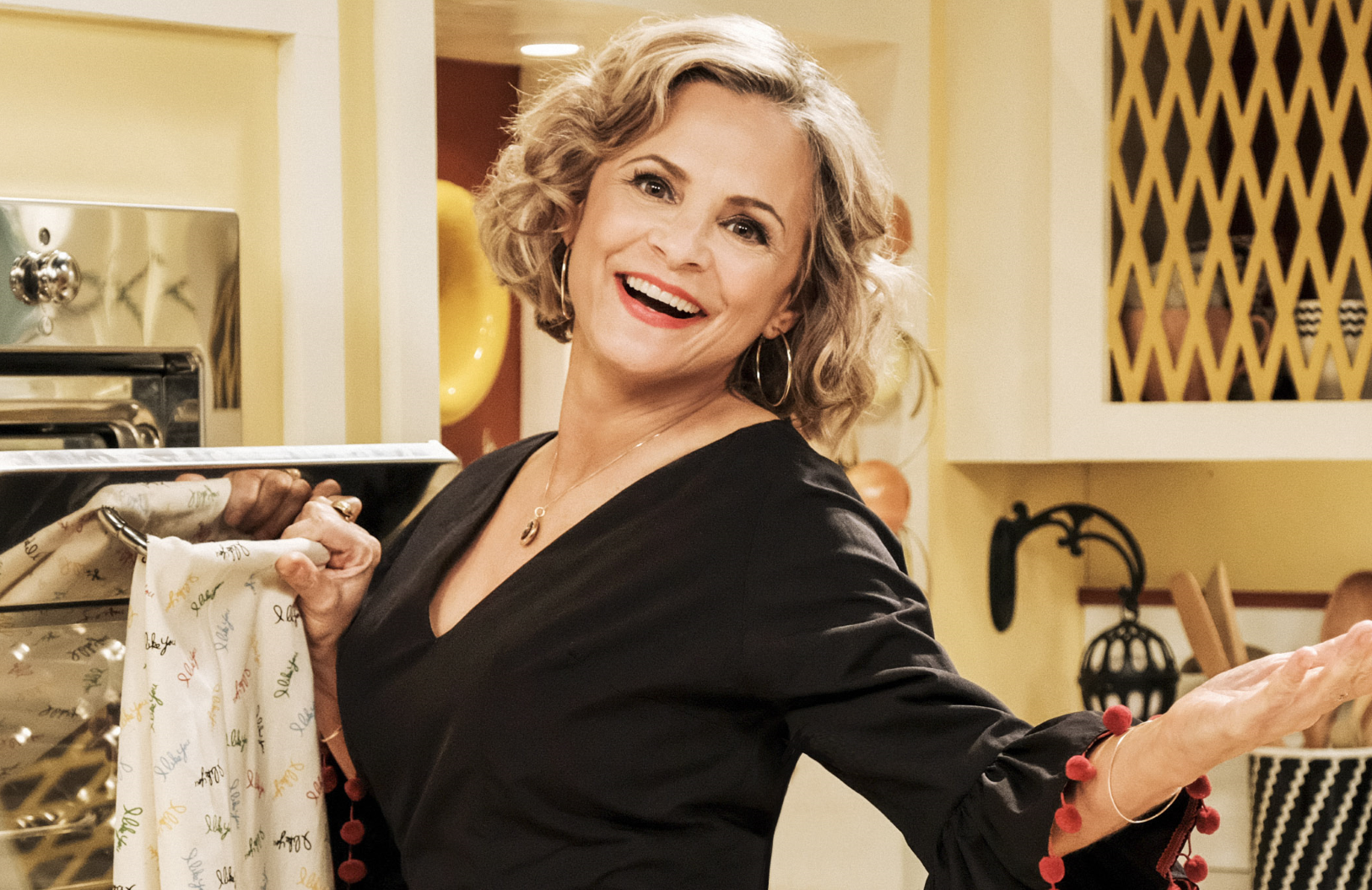 Amy Sedaris stars in At Home with Amy Sedaris on TruTV