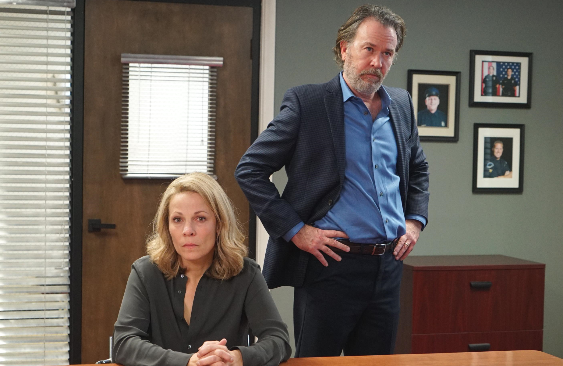 Lili Taylor and Timothy Hutton are among the ensemble of actors who bring their A-game to Season 3 of  <i>American Crime</i>. (ABC)