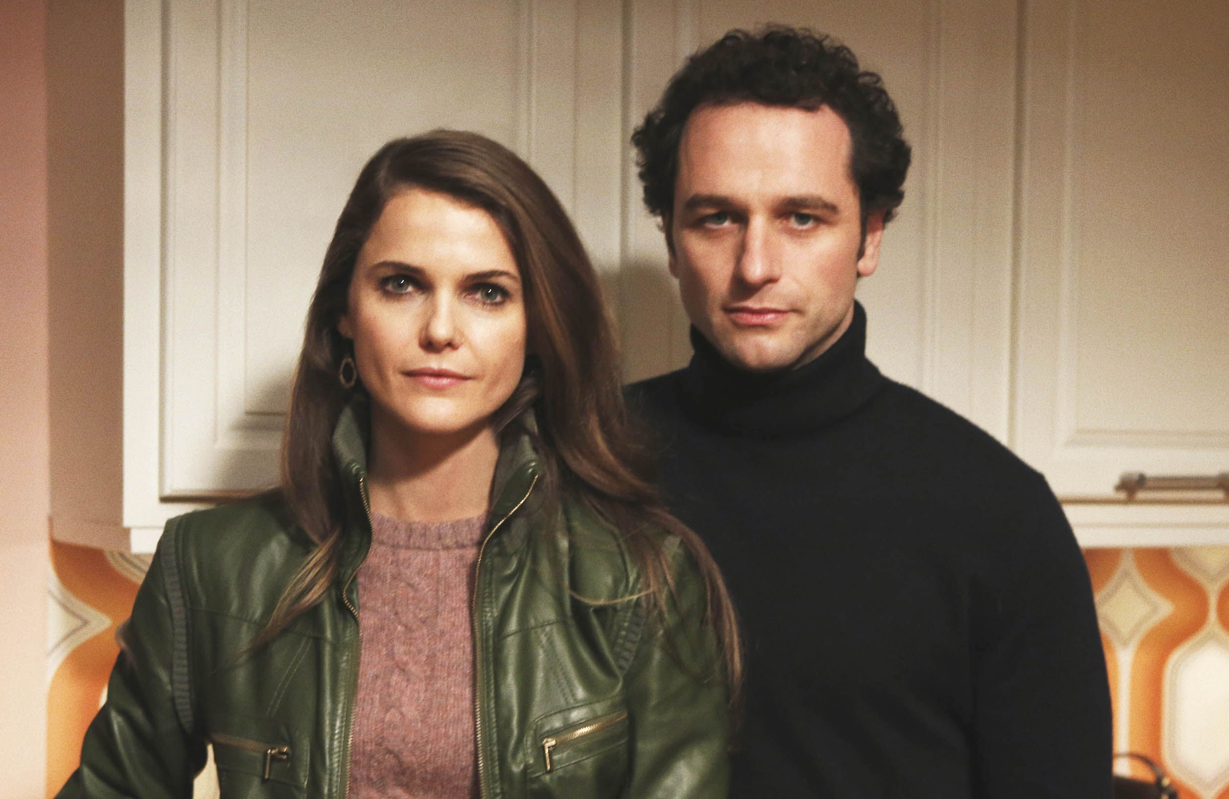 Keri Russell and Matthew Rhys star as Liz and Philip Jennings in The Americans (FX)