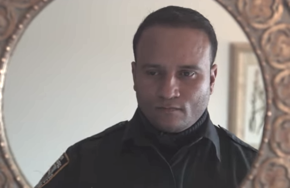 Officer Sandy Gonzalez in the Hulu Original documentary <i>Crime + Punishment</i>