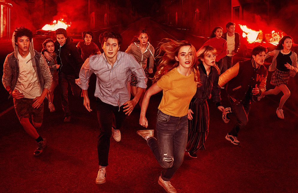 The young cast of Netflix's new supernatural teen thriller, The Society