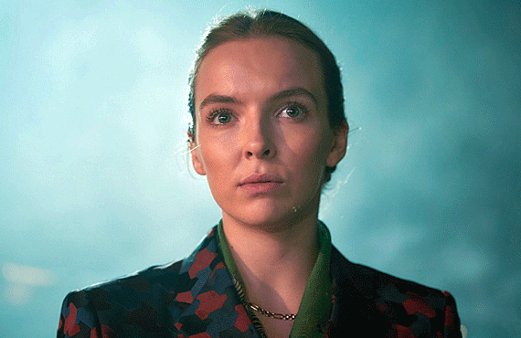 Jodie Comer as Villanelle on Killing Eve (BBC America)