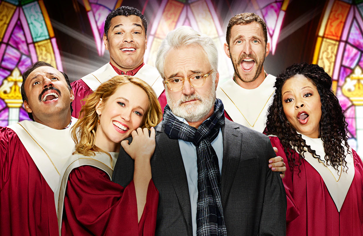 Bradley Whitford stars as an unlikely church choir director in NBC's new fall comedy, Perfect Harmony