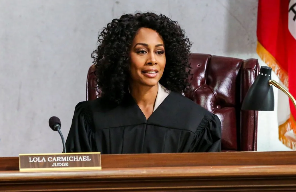 Simone Missick stars in the CBS fall courthouse drama All Rise
