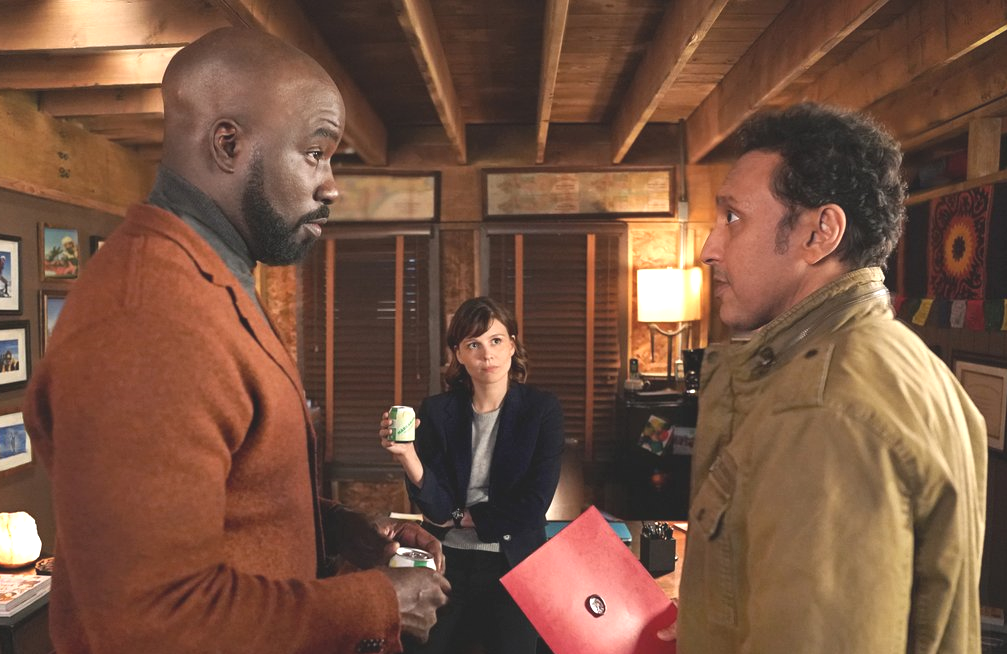 Mike Colter, Katja Herbers and Aasif Mandvi star in the CBS fall thriller Evil.