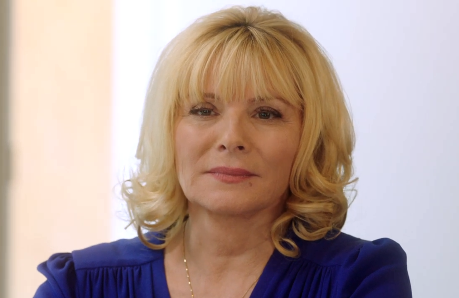 Kim Cattrall is the matriarch of FOX's new soap, Filthy Rich