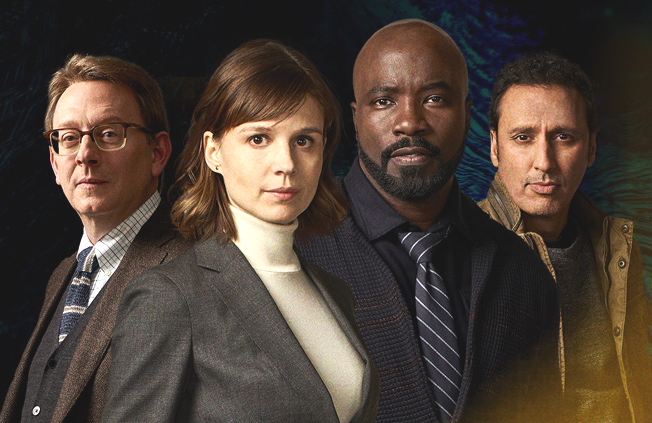 Michael Emerson, Katja Herbers, Mike Colter and  Aasif Mandvi star in the fall CBS drama Evil