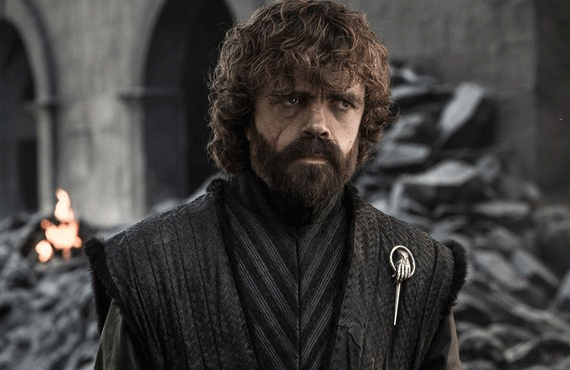 Peter Dinklage as Tyrion in Game of Thrones