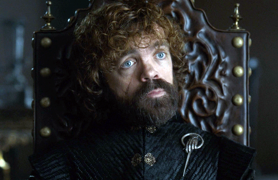 Peter Dinklage as Tyrion in Game of Thrones (HBO)