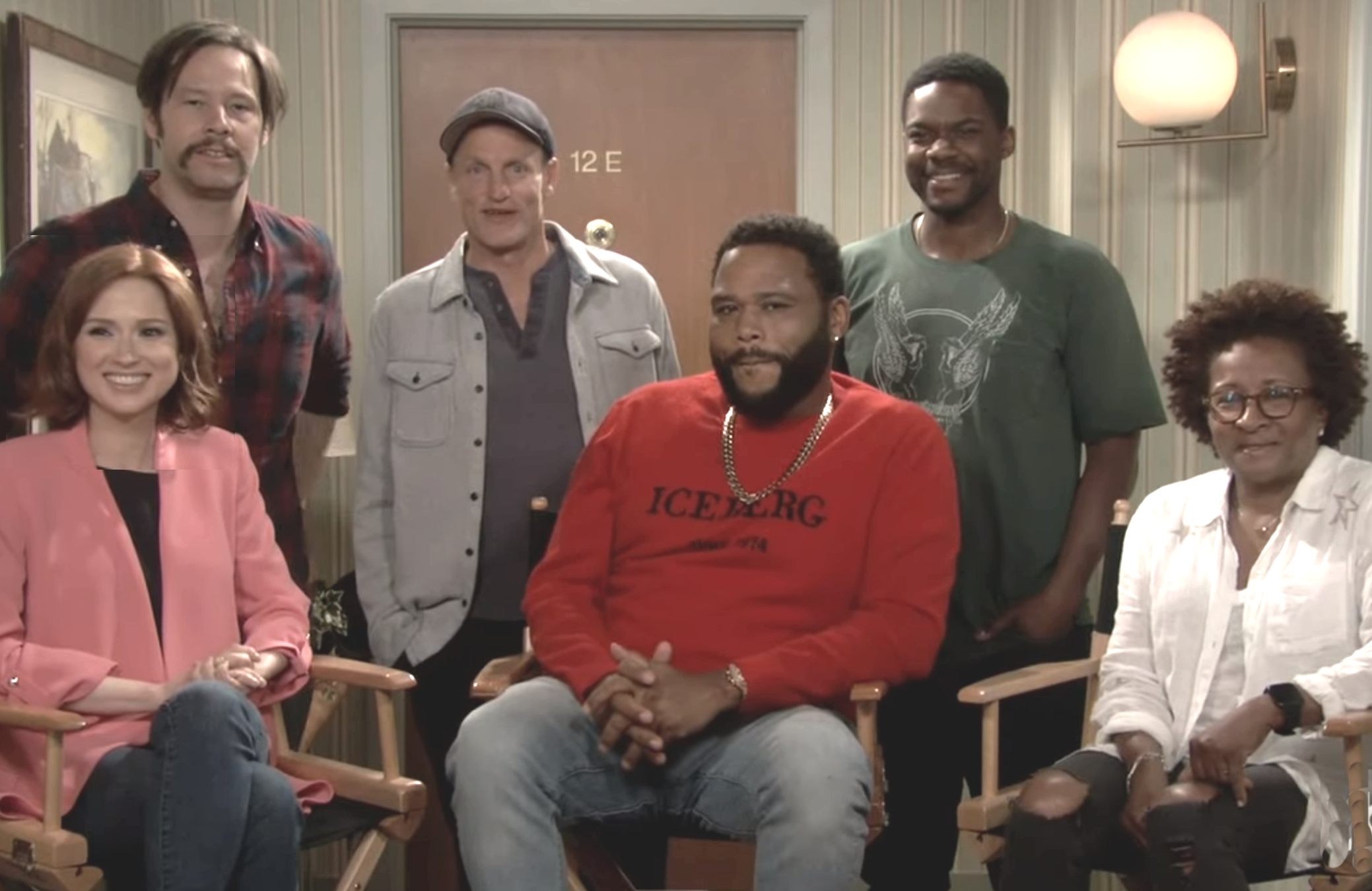 Ellie Kemper, Ike Barinholtz, Woody Harrelson, Anthony Anderson, Jovan Adepo and Wanda Sykes are among the stars appearing in tonight's Live in Front of a Studio Audience: Norman Lear's All in the Family and The Jeffersons (ABC)
