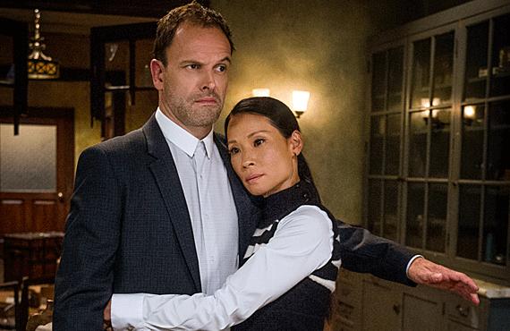 Jonny Lee Miller and Lucy Liu star in 'Elementary' (CBS)