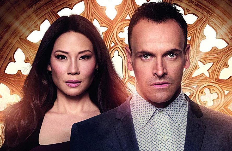 Lucy Liu  and Jonny Lee Miller in Elementary. (Photo: CBS)