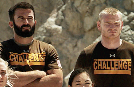 Turbo and Wes on The Challenge (MTV)