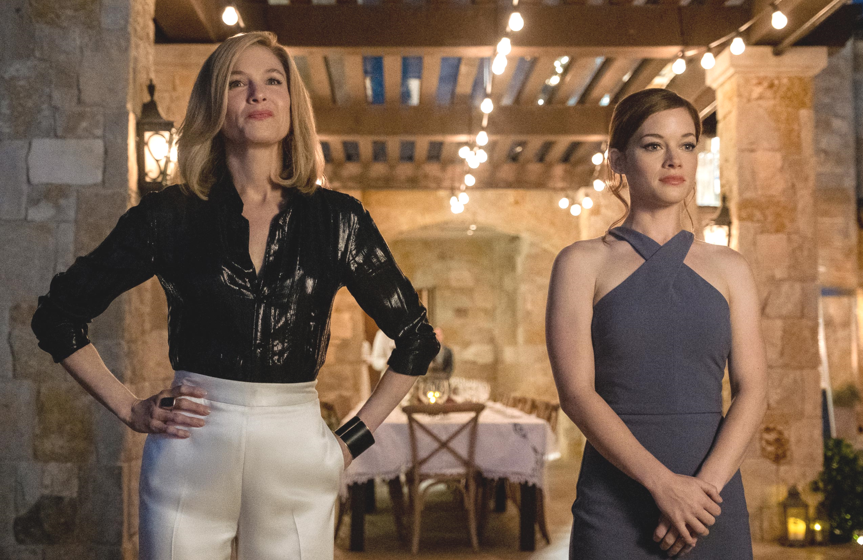Renee Zellweger and Jane Levy star in What/If (Netflix)