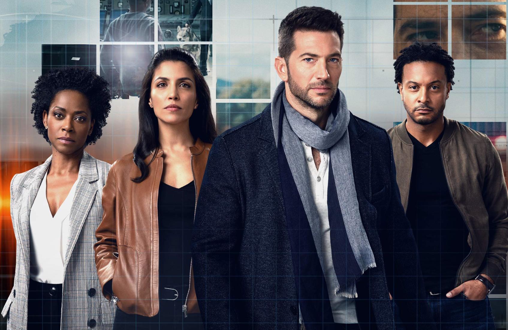 Karen LeBlanc, Nazneen Contractor,  Luke Roberts and Brandon Jay McLaren  in Ransom (CBS)