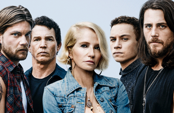 Jake Weary, Shawn Hatosy, Ellen Barkin, Finn Cole, and Ben Robson on Animal Kingdom (TNT)