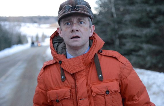 Martin Freeman on Fargo (FX)