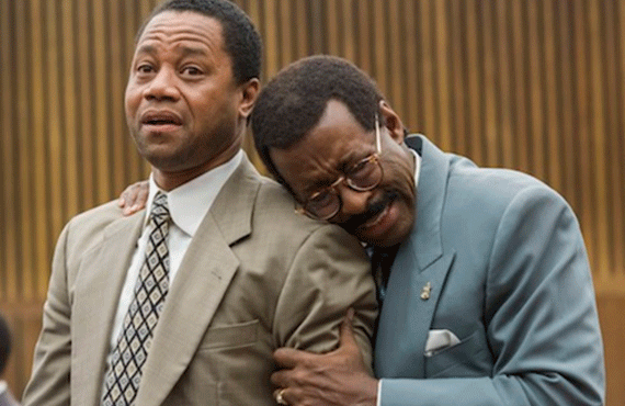 Cuba Gooding Jr. and Courtney B. Vance in The People vs. O.J. Simpson (FX)