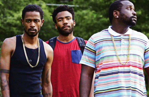 LaKeith Stanfield, Donald Glover, and Brian Tyree Henry in Atlanta (FX)