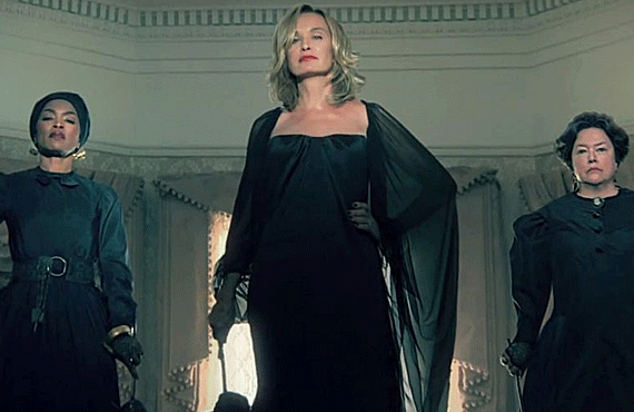 Angela Bassett, Jessica Lange, and Kathy Bates in American Horror Story (FX)