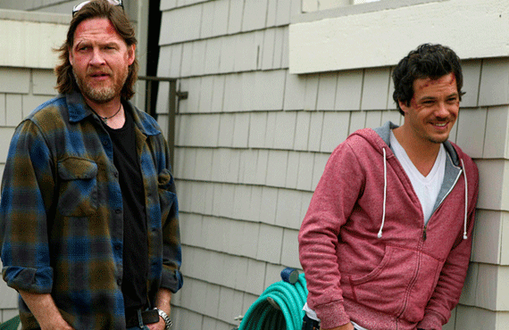Donal Logue and Michael Raymond James in Terriers (FX)