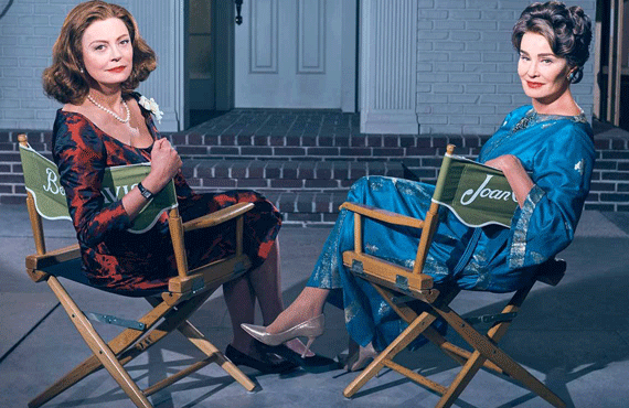 Susan Sarandon and Jessica Lange in Feud (FX)