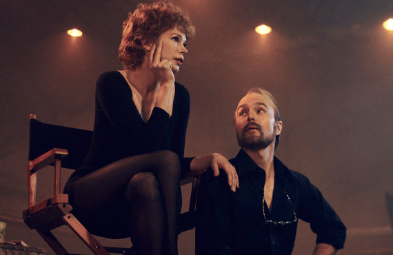 Michelle Williams and Sam Rockwell in Fosse/Verdon (FX)