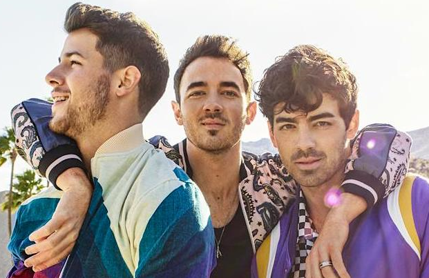 Reunited and it feels so good: Nick, Joe and Kevin Jonas in Jonas Brothers: Chasing Happiness (Amazon)