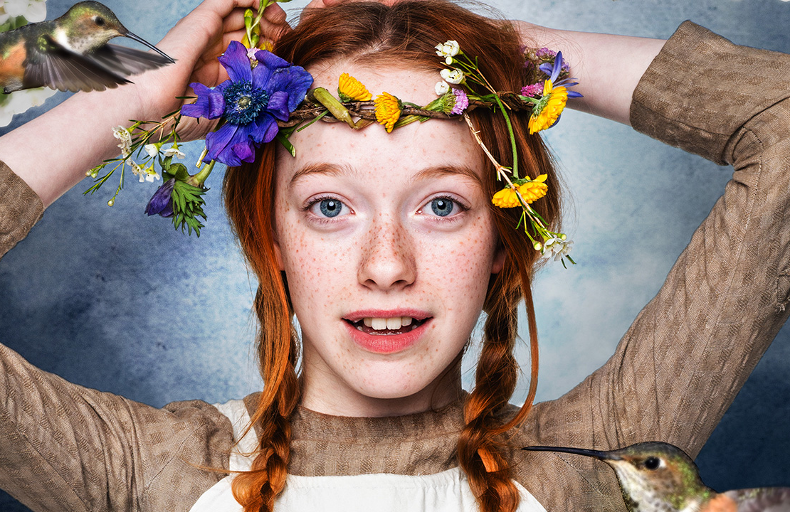 Amybeth McNulty stars in Anne with an E (Netflix/CBC)