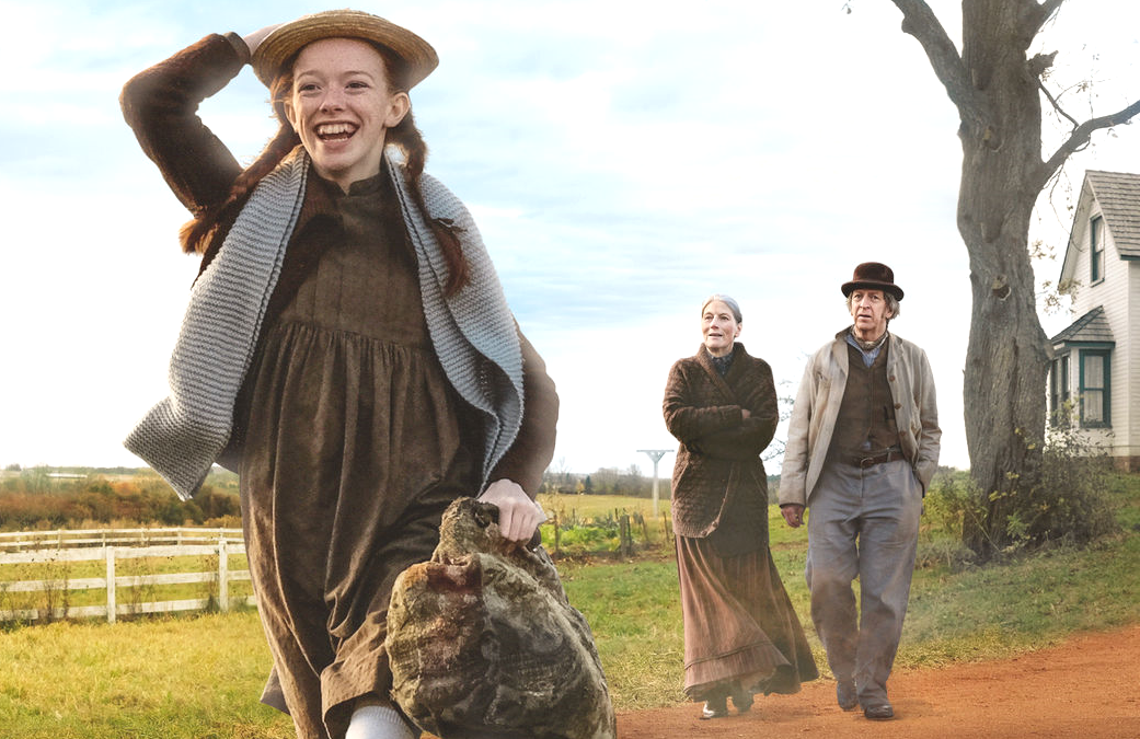Amybeth McNulty, Geraldine James and  R.H. Thomson in Anne with an E (Netflix/CBC)