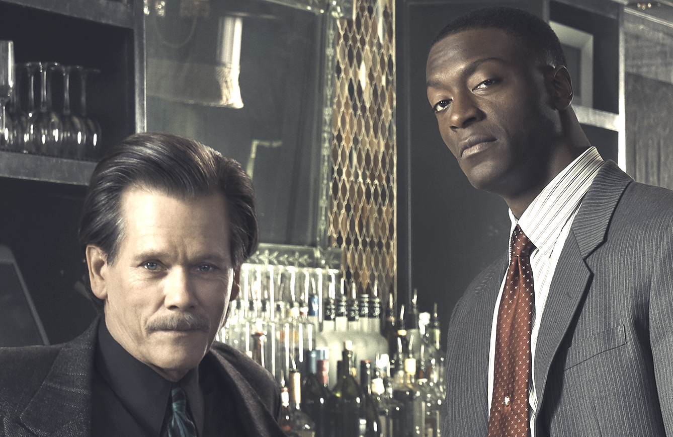 Kevin Bacon and Aldis Hodge star in the Boston crime drama City on a Hill (Showtime)