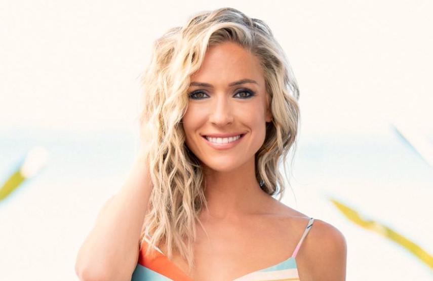 Kristin Cavillari hosts tonight's season finale of Paradise Hotel. (FOX)