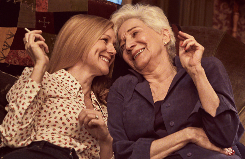 Laura Linney and Olympia Dukakis in Armistead Maupin's Tales of the City  (Netflix)