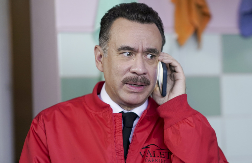 Series co-creator Fred Armisen plays parking valet legend Tico in Los Espookys (HBO)