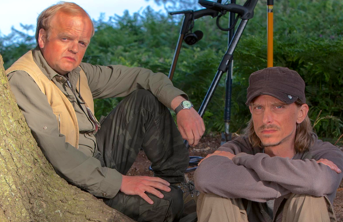 Toby Jones and Mackenzie Crook star in Detectorists (BBC)