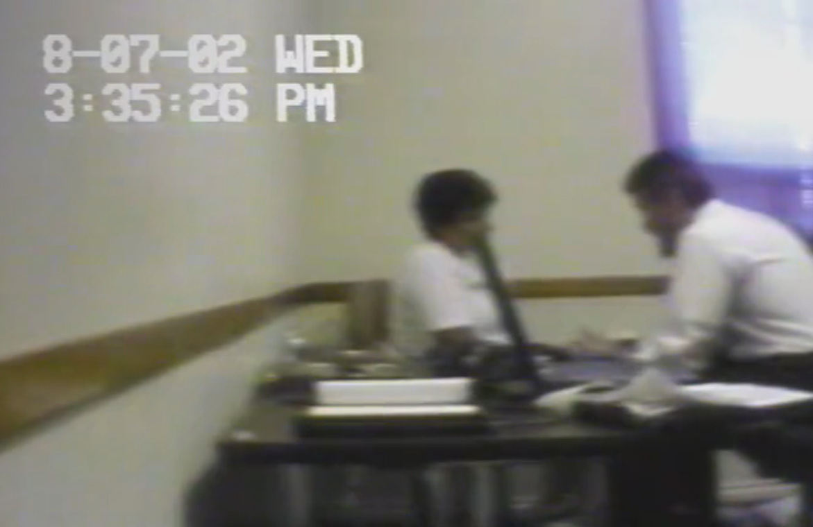 Karen Boes confessed to her daughter's murder, but raw footage of the interrogation suggests it was coerced. (Netflix)