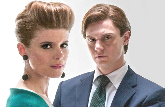 Kate Mara and Evan Peters in Pose (FX)